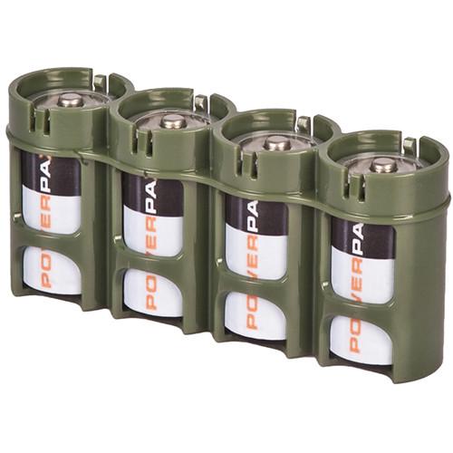 STORACELL SlimLine C4 Battery Holder (Military Green)