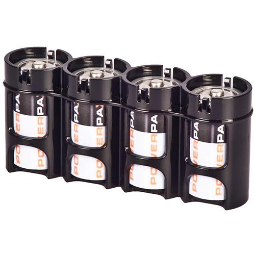 STORACELL SlimLine C4 Battery Holder (Tuxedo Black)