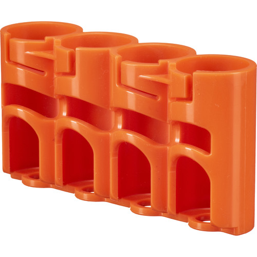 STORACELL SlimLine CR123 Battery Holder (Orange)
