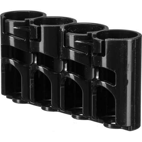 STORACELL SlimLine CR123 Battery Holder (Tuxedo Black)