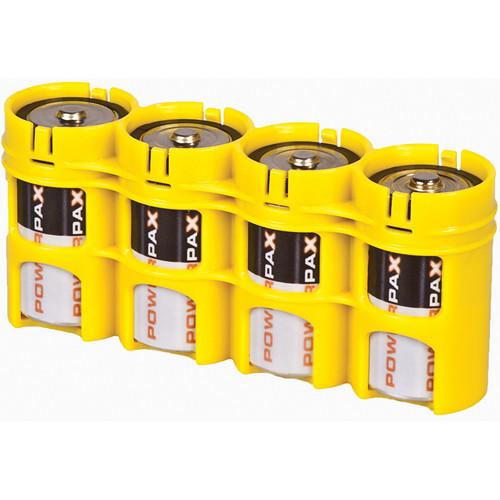 STORACELL SlimLine D4 Battery Holder (Yellow)