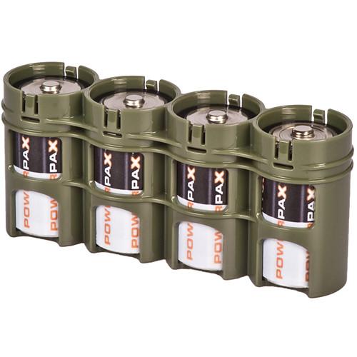 STORACELL SlimLine D4 Battery Holder (Military Green)