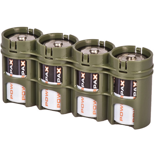 STORACELL SlimLine D4 Battery Holder (Military Green)