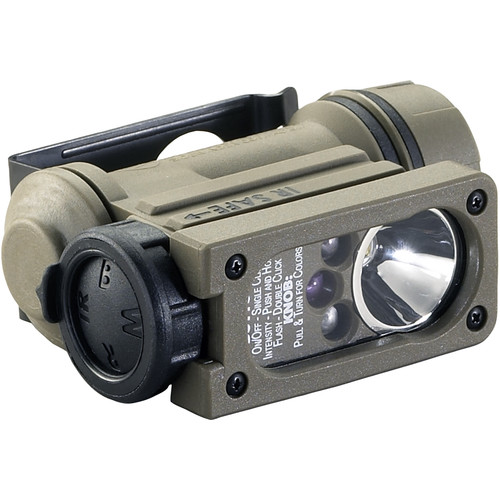 Streamlight Sidewinder Compact II Aviation Model Hands-Free Light (White, Green, Blue, Infrared LEDs; Clamshell Packaging)