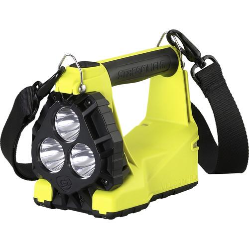 Streamlight Vulcan 180 Lantern Standard System (120/100 VAC, QR Shoulder Strap, Yellow)