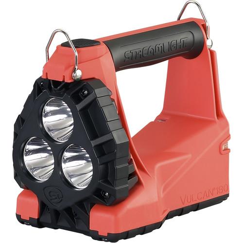 Streamlight Vulcan 180 Lantern (No Charger, QR Shoulder Strap, Orange)