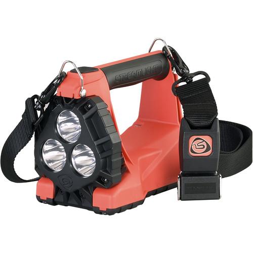 Streamlight Vulcan 180 Firefighting LED Lantern 120V/100V AC/12V DC with Quick Release Shoulder Strap (Orange)