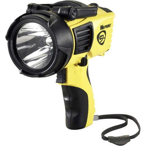 Streamlight Waypoint 4C Pistol-Grip Lantern with 12V DC Power Cord (Clam Packaged, Yellow)