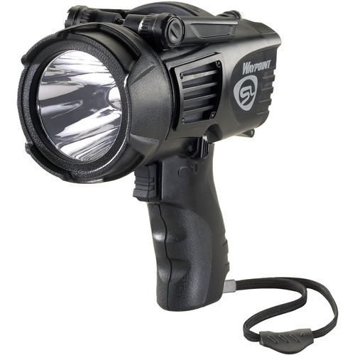 Streamlight Waypoint 4C Pistol-Grip Lantern with 12V DC Power Cord (Clam Packaged, Black)