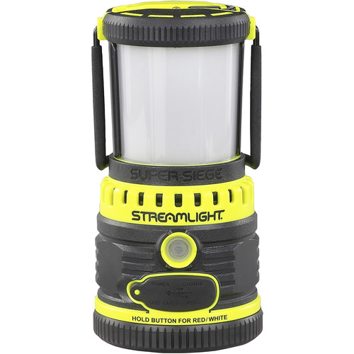 Streamlight Super Siege Lantern with Portable USB Charger (120 VAC, Yellow)