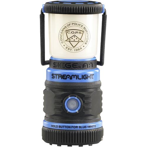 Streamlight Siege AA Ultra-Compact Alkaline Work Lantern with Magnetic Base (Blue)