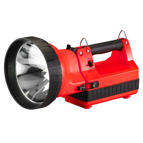 Streamlight Hid Litebox VMS 12V DC Flood Lens, DC Power Cord, Shoulder Strap Direct Wire Rack (Orange)