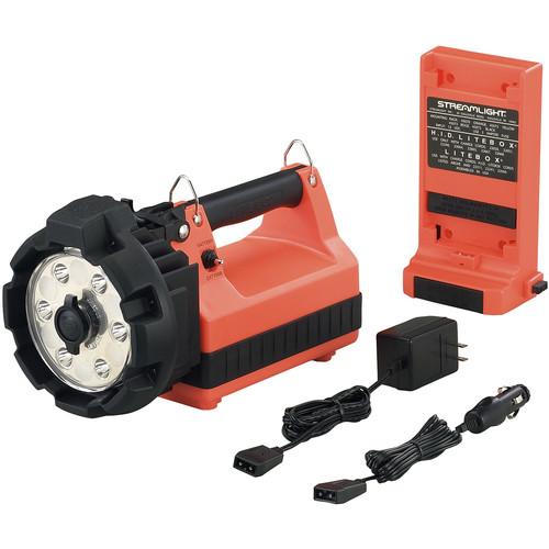 Streamlight E-Flood LiteBox HL Lantern Standard System (120/100V, Orange)