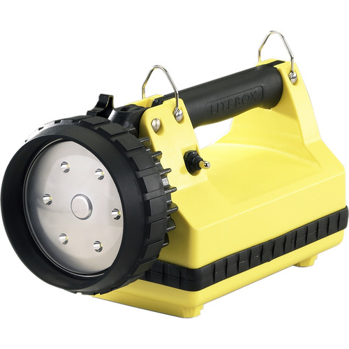 Streamlight E-Flood Firebox Lantern Standard System 120V/100V AC/12V DC Shoulder Strap Mounting Rack (Yellow)