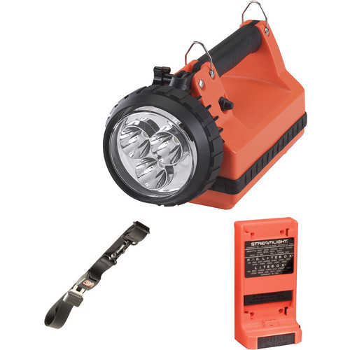 Streamlight E-Spot LiteBox Lantern Power Failure System (120V, Orange)