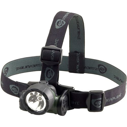 Streamlight Green Trident LED Headlamp (Green, Clamshell Packaging)