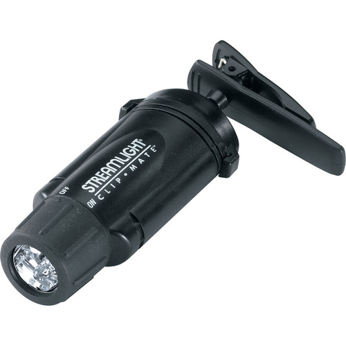 Streamlight ClipMate Flashlight with Green LEDs (Black)