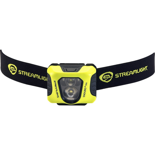 Streamlight Enduro Pro Headlamp with Red Secondary Light (Yellow, Clamshell Packaging)