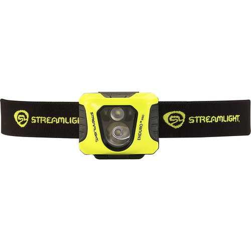 Streamlight Enduro Pro Headlamp with Red Secondary Light (Yellow)