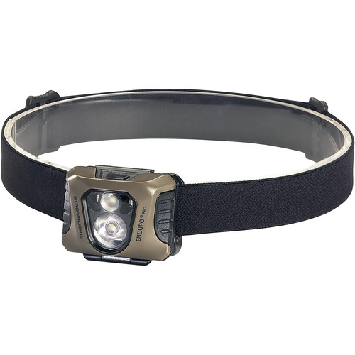 Streamlight Enduro Pro Headlamp with Green Secondary Light (Coyote,Clamshell Packaging)
