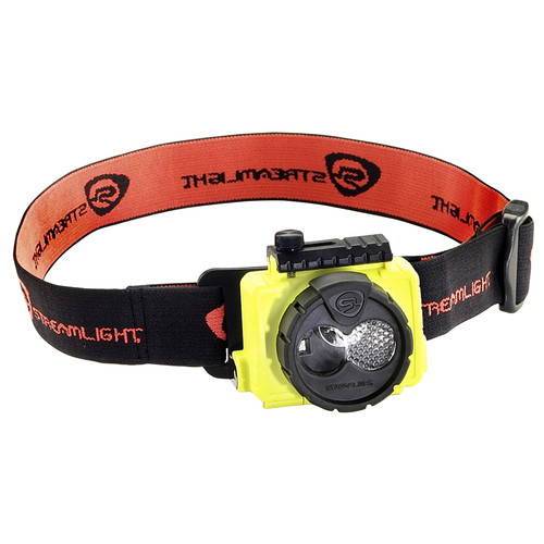 Streamlight Double Clutch USB LED Headlamp with AC Adapter (Yellow)