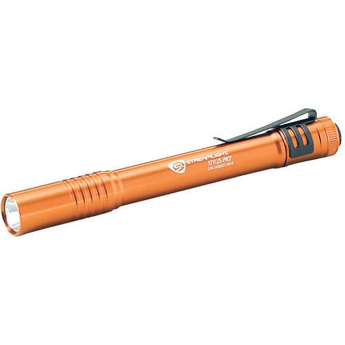 Streamlight Stylus Pro LED Penlight (Orange, Clamshell Packaging)