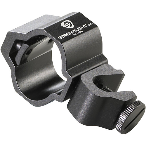 Streamlight Firefighter's Helmet Mount for PolyTac, 3AA/4AA ProPolymer Flashlights