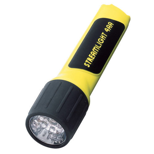 Streamlight 4AA ProPolymer LED Flashlight with Batteries (Yellow)