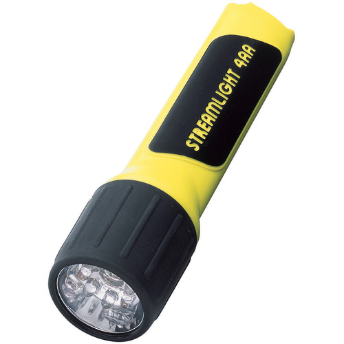 Streamlight 4AA ProPolymer LED Flashlight with Batteries (Yellow,Clamshell Packaging)