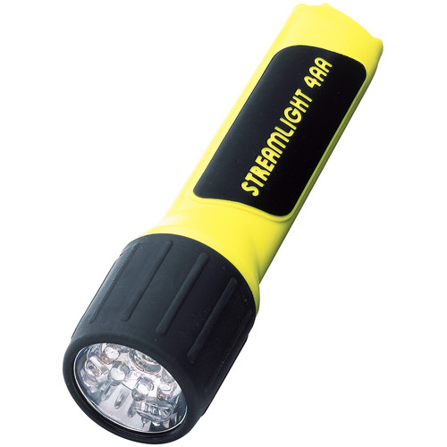 Streamlight 4AA ProPolymer Lux Division 2 LED Flashlight (Yellow, Clamshell Packaging)