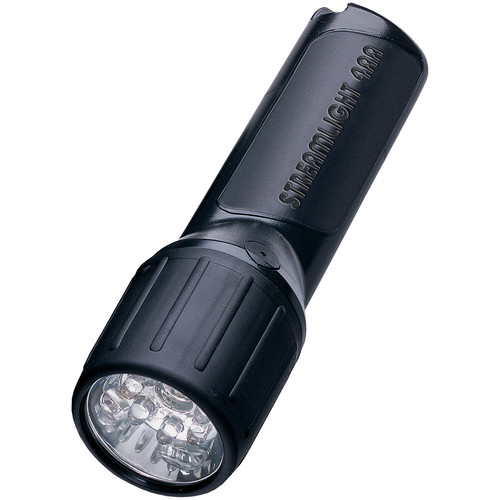 Streamlight 4AA ProPolymer LED Flashlight with Batteries (Black, Clamshell Packaging)