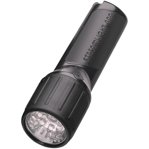 Streamlight 4AA ProPolymer Lux Division 2 LED Flashlight (Black, Clamshell Packaging)