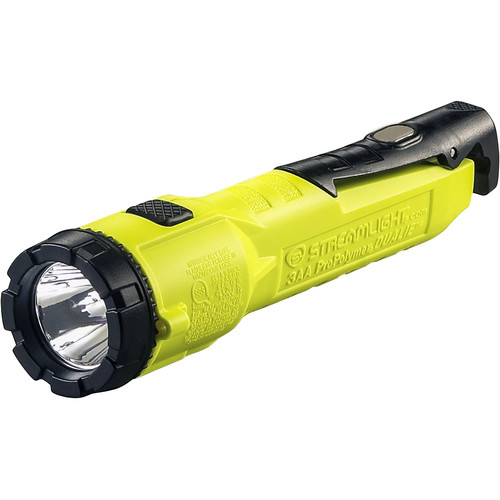 Streamlight Dualie 3AA Flashlight with Integrated Magnetic Clip (Yellow)