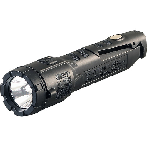 Streamlight Dualie 3AA Flashlight with Integrated Magnetic Clip (AA Batteries) (Black)