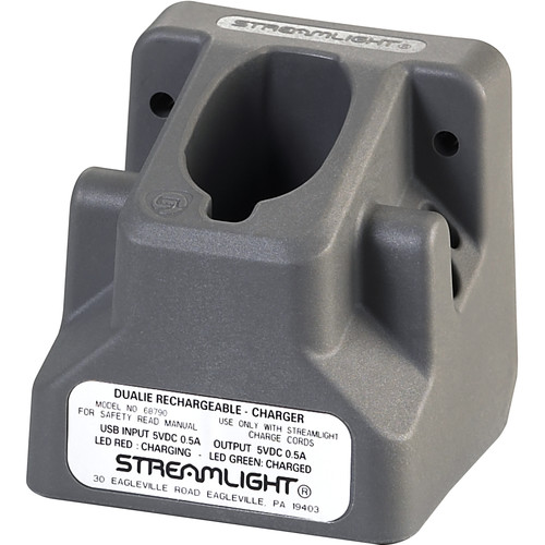 Streamlight Charger Holder for Dualie Rechargeable Flashlight