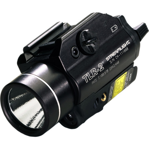 Streamlight TLR-2 Rail-Mounted Tactical Light with Red Laser (Boxed)