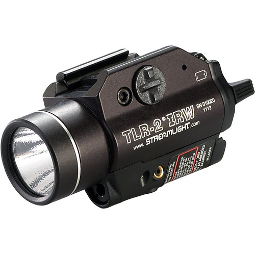 Streamlight TLR-2 IRW Weapon-Mounted Strobing Tactical Light with Eye-Safe Infrared Laser (Boxed, Black)