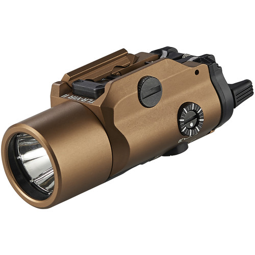 Streamlight TLR-VIR II Compact LED Weaponlight with IR Laser/Illuminator (Coyote Brown)