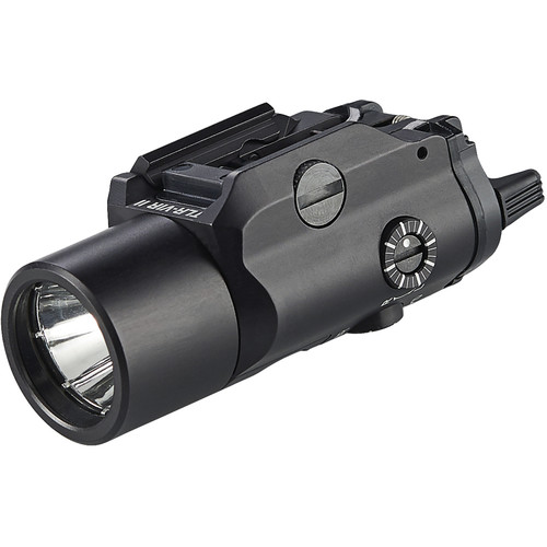 Streamlight TLR-VIRII White Light and IR Illuminator with Eye Safe IR Laser (Black, Box)