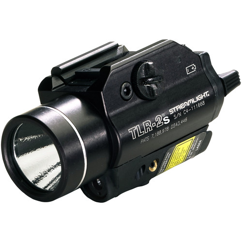 Streamlight TLR-2s Strobing Rail-Mounted Tactical Light with Red Laser (Boxed)