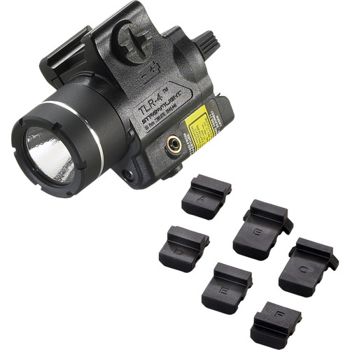 Streamlight TLR-4 Compact Rail Mounted Tactical Light with Laser (Boxed, Black)