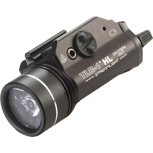 Streamlight TLR-1 HL Rail-Mounted Weapon Flashlight (Black)