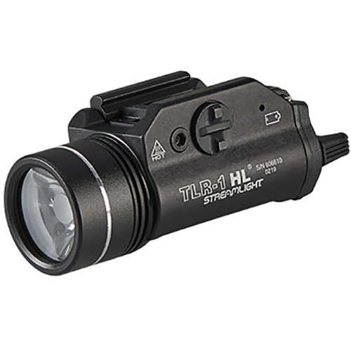 Streamlight TLR-1 HL Rail-Mounted LED Weaponlight with Remote Pressure Switch (Black)