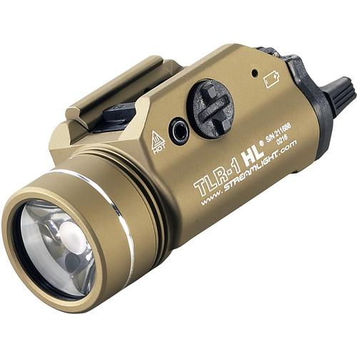 Streamlight TLR-1 HL Rail-Mounted Weapon Flashlight (Flat Dark Earth)