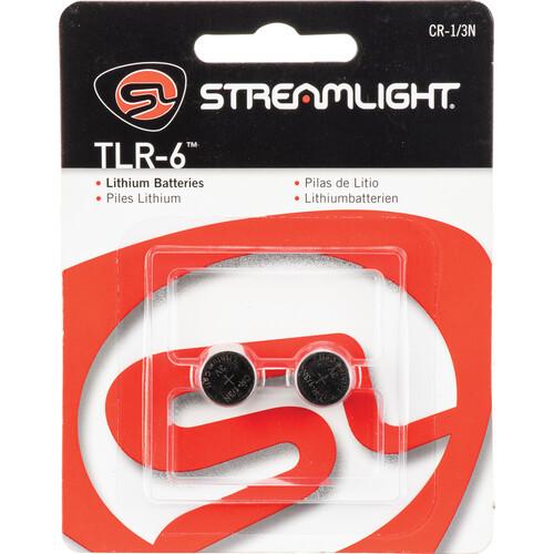 Streamlight CR 1/3N Lithium Batteries (2-Pack)
