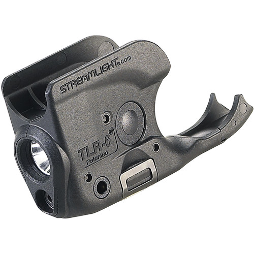 Streamlight TLR-6 Gun-Mounted Tactical Light with Red Aiming Laser for Select Non-Rail 1911 Handguns