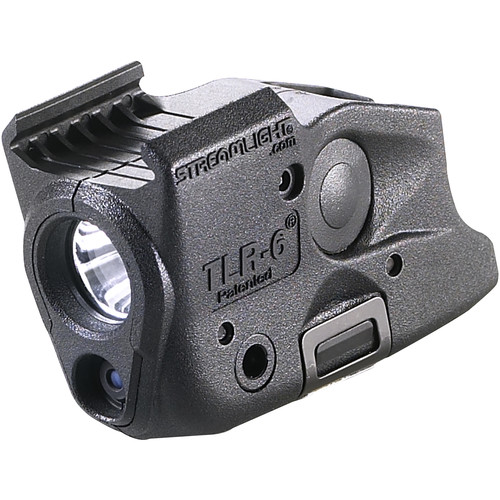 Streamlight TLR-6 Glock Rail-Mounted Tactical Light with Red Aiming Laser