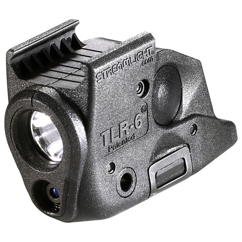 Streamlight TLR-6 Select Springfield Armory Rail-Mounted Tactical Light with Red Aiming Laser