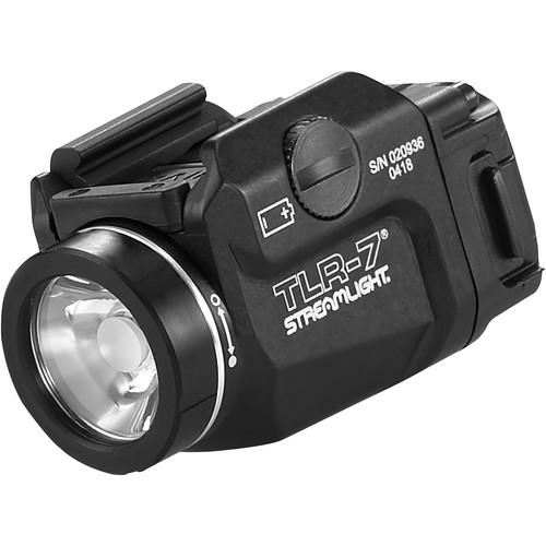 Streamlight TLR-7 Low-Profile Rail Mounted Tactical Light (Boxed, Black)