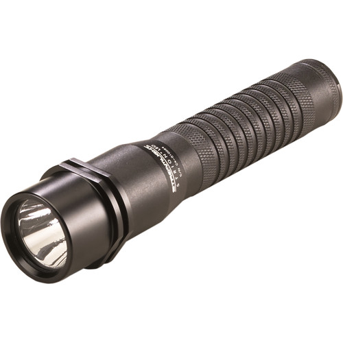 Streamlight Strion Rechargeable LED Flashlight with 120/100 VAC / 12 VDC Charger Bracket (Black)